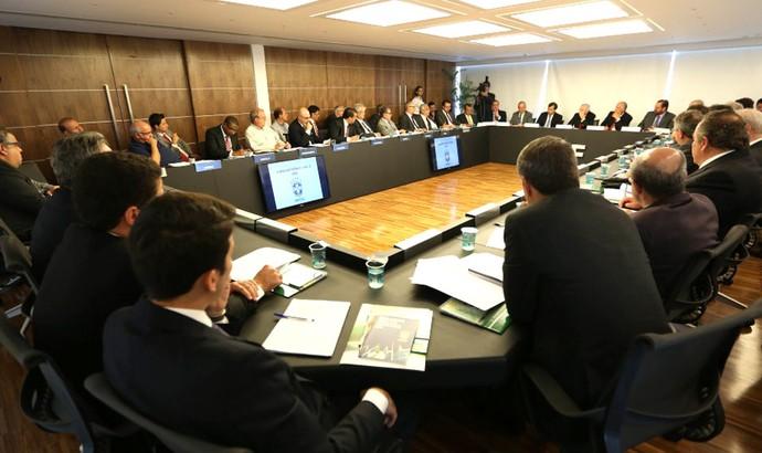 Reunião CBF Brasileirão (Foto: Rafael Ribeiro / CBF)