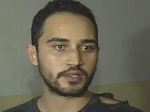 Wesley Camrago, filho do Luciano, da dupla com Zezé, é preso em Goiânia, Goiás (Foto: Reprodução/TV Anhanguera)
