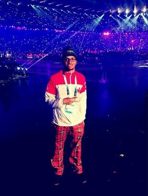 Andre de Grasse; atletismo; Canadá; Jogos Pan-Americanos (Foto: Reprodução/Instagram)