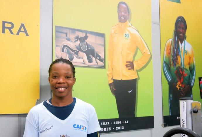 Joice Silva - seleção brasileira de luta olímpica (Foto: Flávio Dilascio)