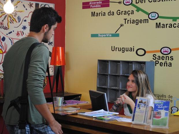De saco cheio, Fatinha diz que cansou de Bruno. Será o fim de Brutinha? (Foto: Malhação / Tv Globo)