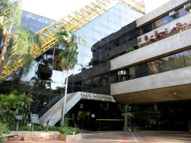 Paço Municipal de Maringá (Foto: Divulgação/Prefeitura de Maringá)