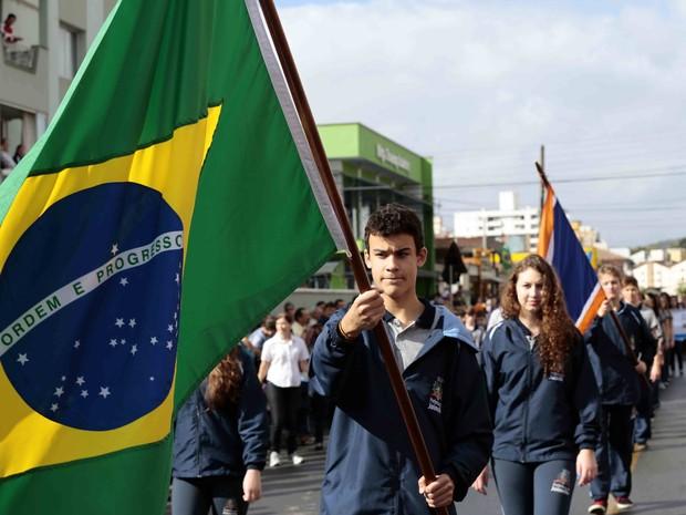 Desfiles em 10 bairros ocorrem até sexta (4) (Foto: Prefeitura de Joinville/Divulgação)
