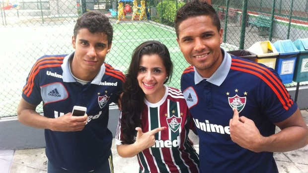 fluminense michael anderson voice brasil (Foto: Pedro Verrísimo)