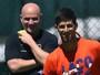 """Agassi acredita que Djokovic possa vencer Wimbledon: """"Claro que sim"""""""