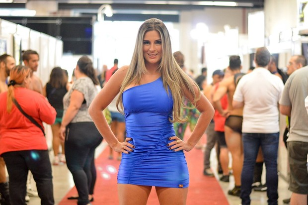 Vanessa Alcântara na Erótika Fair (Foto: Edu Graboski / Lipe Aramuni / M2 Divulgação)