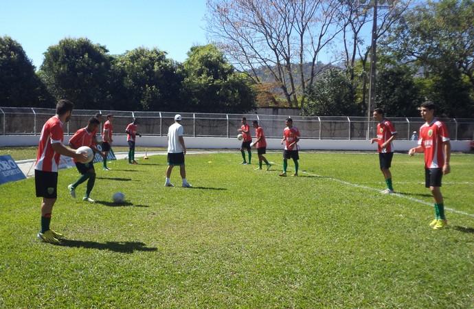 Trio FC ajusta últimos detalhes para estreia  (Foto: Wilkson Tarres / Globoesporte.com)