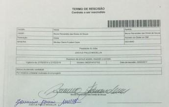 Montes Claros FC assina termo de rescisão de contrato do goleiro Bruno