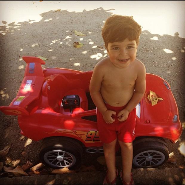 Pedro, filho de Juliana Paes (Foto: Instagram/Reprodução)