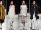 Rochas apresenta desfile em preto, branco e dourado na semana de moda de Paris