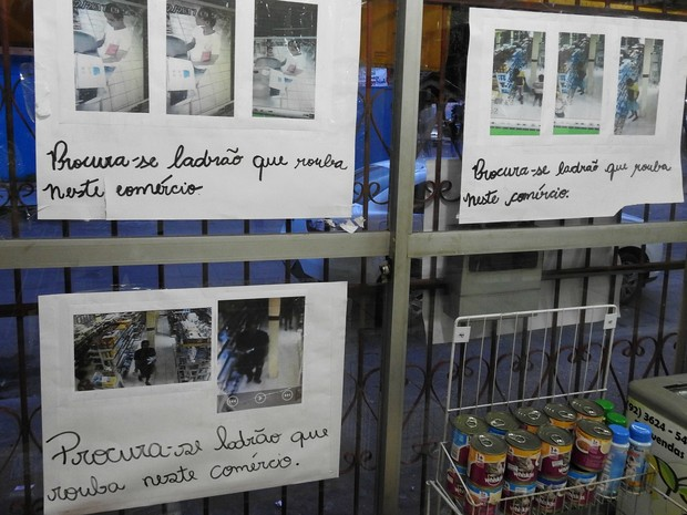 Iniciativa surgiu após várias mercadorias serem furtadas (Foto: Rickardo Marques/G1 AM)