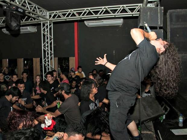 Neste ano, Feliz Metal espera reunir em torno de 500 pessoas em Rio Branco (Foto: Talita Oliveira/Divulgação)