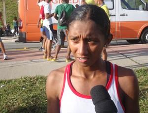 Larisse do Nascimento foi a campeão da Corrida 400 anos de São Luís (Foto: Zeca Soares/G1)