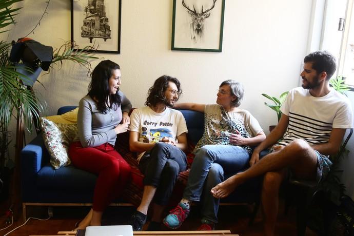 Família de Pedro está tranquila para recebê-lo caso seja eliminado (Foto: Fernanda Frozzer/Gshow)