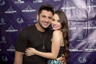 Cristiano Araújo e Allana Moraes (Foto: Flaney Gonzallez/Reprodução)