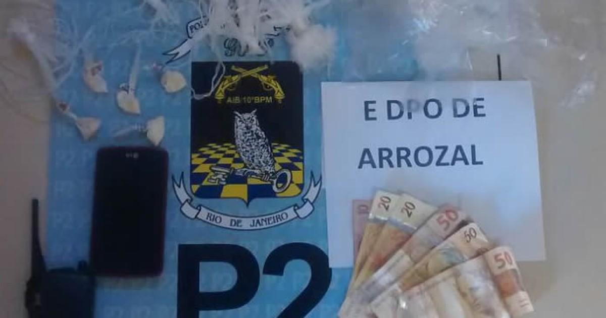 Suspeito de tráfico é preso com drogas e dinheiro em casa de Piraí ... - Globo.com