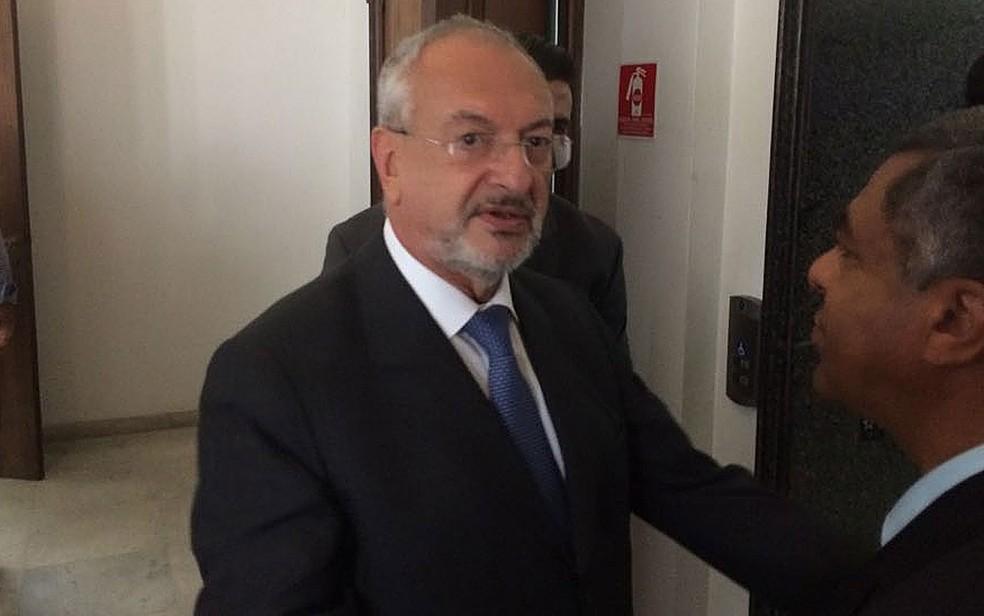 Secretário da Educação de SP, José Renato Nalini (Foto: Márcio Pinho/ G1)
