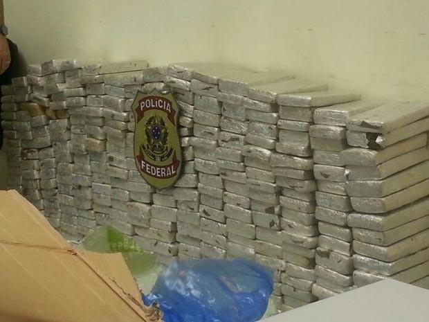 Droga foi apreendida na região do Alto Oeste potiguar (Foto: Divulgação/Polícia Federal do RN)