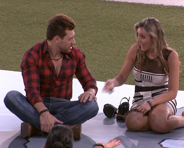 BBB às 23h18m do dia 20/01. (Foto: Big Brother Brasil)