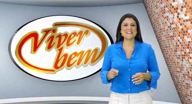Janaina Hohne no Viver Bem (Foto: Reprodução/TV Tribuna)