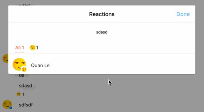 Messenger vai oferecer contador de reações para cada mensagem