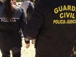 Polícia espanhola investiga a morte de família (Foto: Guarda Civil Espanhola)