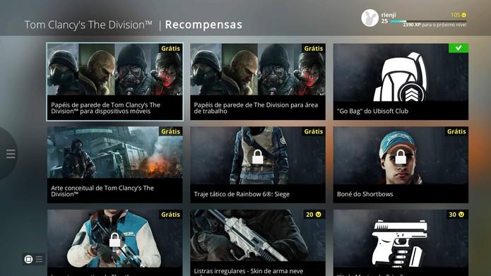 Saiba como obter itens gratuitos de The Division no Ubisoft Club (Foto: Reprodução/Felipe Vinha)