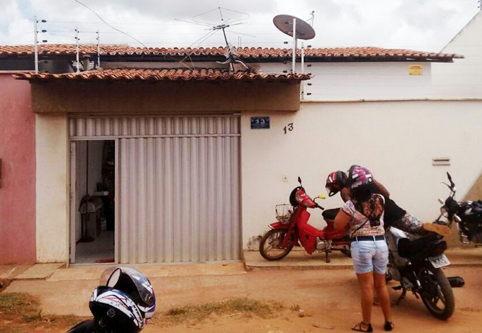 Casa da mãe de Ananias em São José de Ribamar, no Maranhão (Foto: Afonso Diniz / GloboEsporte.com)