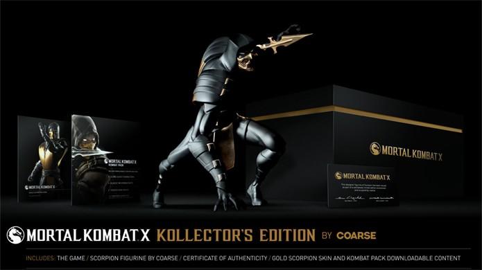 A estátua de Scorpion da Coarse conta com um design distinto (Foto: Reprodução/IGN)
