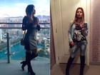 Tendência: Coleguinha revela loucura por bota 'over the knee' e sugere looks