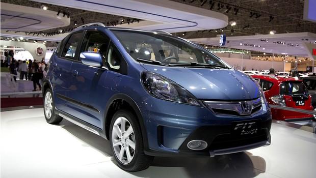 Honda Fit Twist (Foto: Fabio Aro/Autoesporte)