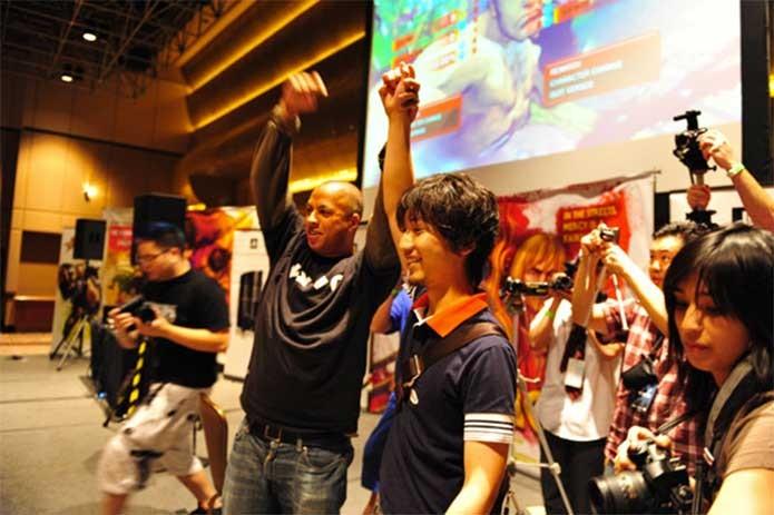O EVO reúne as lendas dos jogos de luta (Foto: Divulgação/EVO)