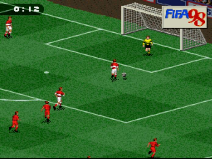 FIFA 98 com o famoso modo Road to World Cup (Foto: Reprodução)