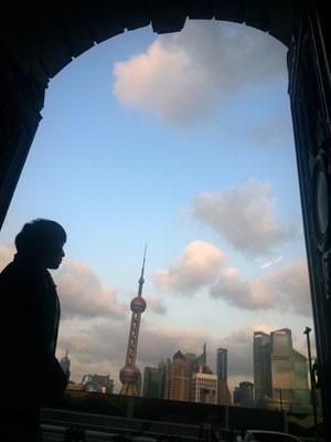 Cidades como Xangai tiveram onda de poluição no início de 2013 (Foto: Peter Parks/AFP)