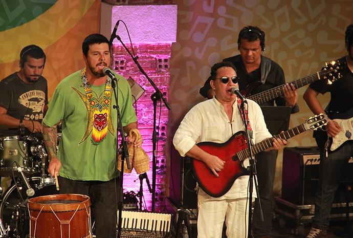 Cordão do Marambaia fez todo mundo dançar ao som do beiradão (Foto: Katiúscia Monteiro/ Rede Amazônica)