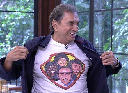 Dedé Santana comenta emoção ao pisar no picadeiro em filme: 'Procurei o Mussum e o Zacarias... Eu travei'