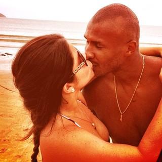 Samara Felippo e Leandrinho (Foto: Reprodução/Instagram)