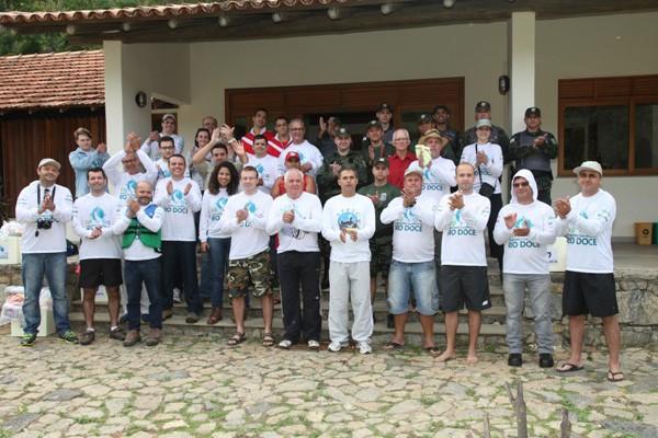 Equipe Expedição Rio Doce (Foto: Kesia Moura)