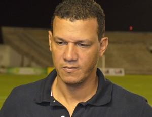 Cleibson Ferreira, treinador do Atlético de Cajazeiras (Foto: Amauri Aquino / GloboEsporte.com/pb)