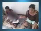 Sem leito, criança fica sentada em chão de hospital do AP após cirurgia