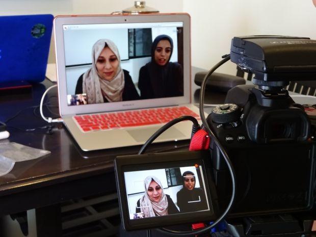 Abeer Els e Shahenaz Monia criaram o aplicativo Dietii (Foto: THE GIRLS ON THE ROAD)