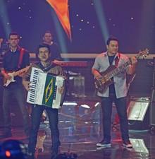 'Luan' mistura forró com Led Zeppelin (Camila Serejo / TV Globo)
