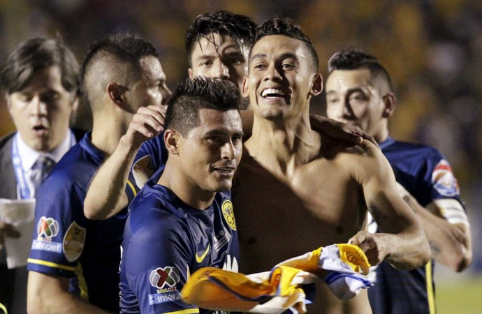 Tigres 0 x 2 América do México Champions Concacaf (Foto: Reuters)