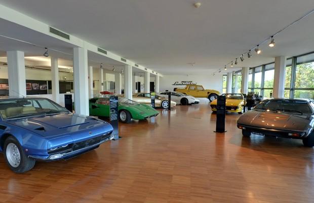 Museu Lamborghini (Foto: Reprodução)