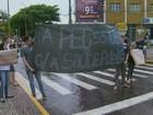 Estudantes do Cefet e da Unifal protestam contra PEC 55 em Varginha