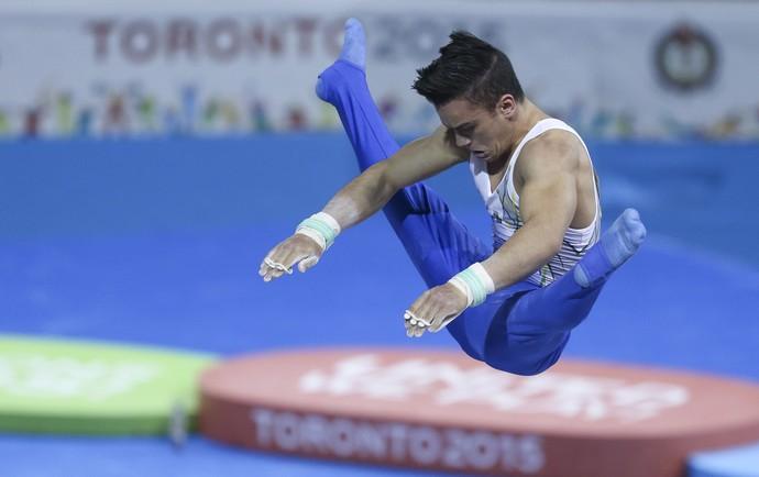 Caio Souza; ginástica artística; jogos pan-americanos (Foto: Washington Alves/Exemplus/COB)