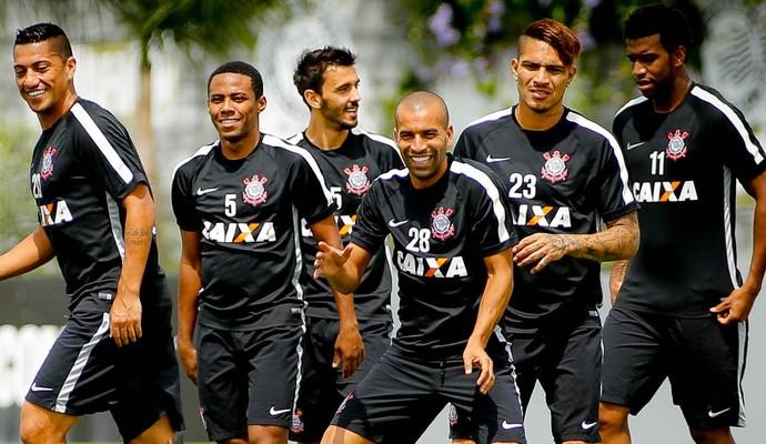 Titulares Corinthians Treino (Foto: Rodrigo Coca/Agência Corinthians)