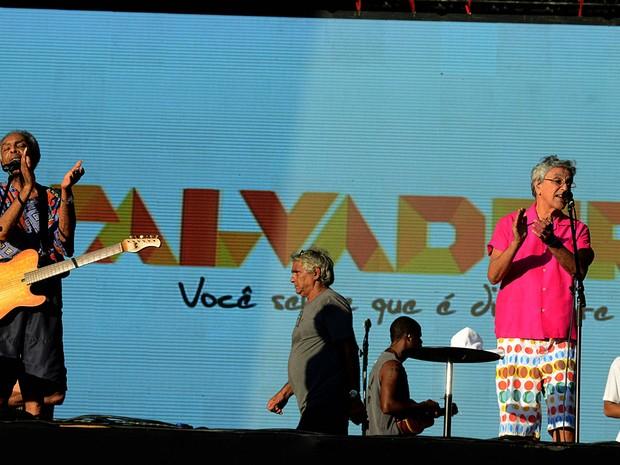 Gilberto Gil e Caetano Veloso (Foto: Valter Pontes/Agecom)