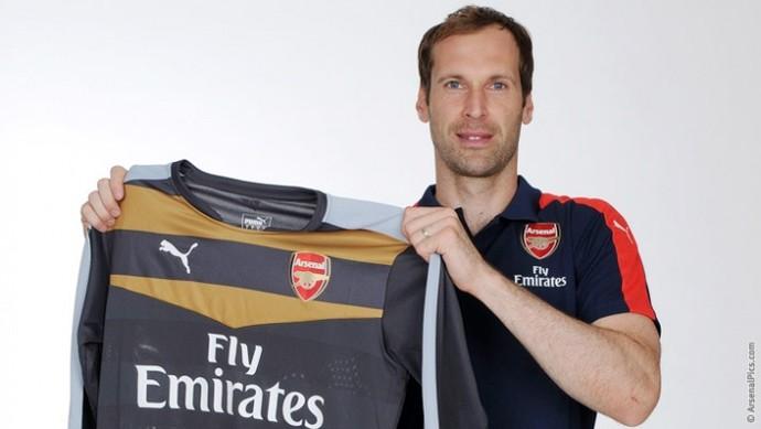 Petr Cech Arsenal (Foto: Divulgação)