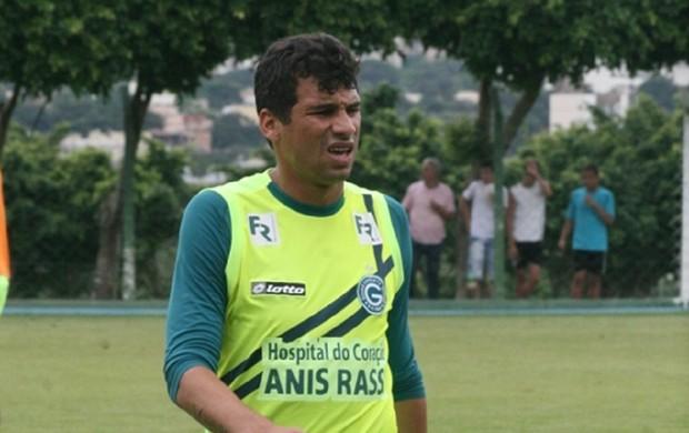 Neto Baiano, atacante do Goiás (Foto: Rosiron Rodrigues/Goiás E.C.)